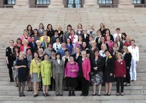 Kvinnorna i riksdagen 2012