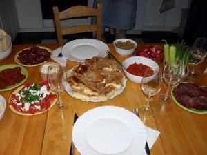 Serbisk middag