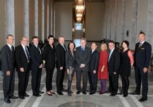 Medlemmarna i Grundlagsutskottet