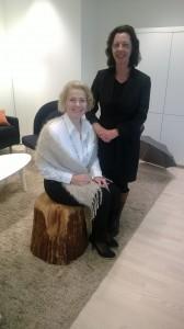 Tillsammans med ordföranden i Mia-Petra Kumpula-Natri, EU-utskottets ordförande, i Bryssel för att förbereda oss inför EU-valet