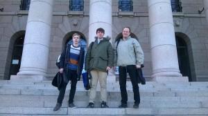 Från vänster: Jacob Boman, Mattias Carlsson och Jonas Eriksson