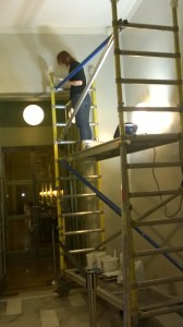 Restorationsarbete