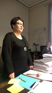 Arbetet i arbetslivs- och jämställdhetsutskottet är slut för den här perioden. Här är ordförande ledamot Filatov.