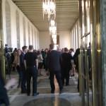 Sista talmanskaffet i rikssalen på två år