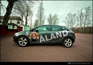 Bil med valbild